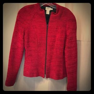 Jackets & Blazers - DONATED...Beautiful Crimson Fitted Blazer